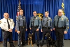 Command Staff with K9 Teams